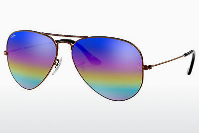 Aurinkolasit Ray-Ban AVIATOR LARGE METAL (RB3025 9019C2) - Harmaa, Ruskea