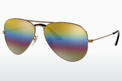Aurinkolasit Ray-Ban AVIATOR LARGE METAL (RB3025 9020C4) - Harmaa, Ruskea