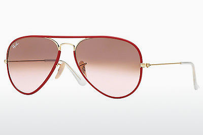 Aurinkolasit Ray-Ban AVIATOR FULL COLOR (RB3025JM 001/X3) - Kulta, Punainen