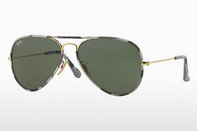 Aurinkolasit Ray-Ban AVIATOR FULL COLOR (RB3025JM 171) - Kulta