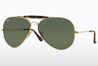 Aurinkolasit Ray-Ban OUTDOORSMAN II (RB3029 181) - Kulta