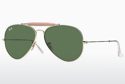 Aurinkolasit Ray-Ban OUTDOORSMAN II (RB3029 L2112) - Kulta