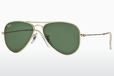 Aurinkolasit Ray-Ban AVIATOR SMALL METAL (RB3044 L0207) - Kulta