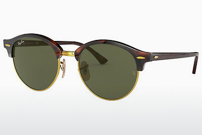 Aurinkolasit Ray-Ban Clubround (RB4246 990) - Ruskea, Havanna