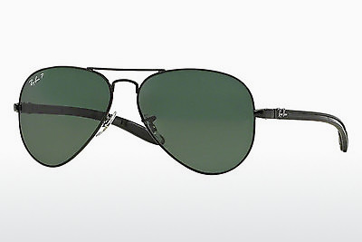 Aurinkolasit Ray-Ban AVIATOR TM CARBON FIBRE (RB8307 002/N5) - Musta