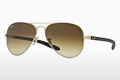 Aurinkolasit Ray-Ban AVIATOR TM CARBON FIBRE (RB8307 112/85) - Kulta