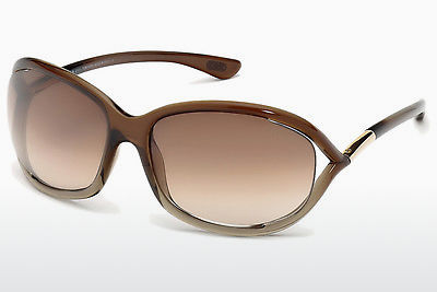 Aurinkolasit Tom Ford Jennifer (FT0008 38F) - Ruskea