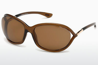 Aurinkolasit Tom Ford Jennifer (FT0008 48H) - Ruskea
