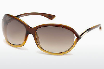 Aurinkolasit Tom Ford Jennifer (FT0008 50F) - Ruskea