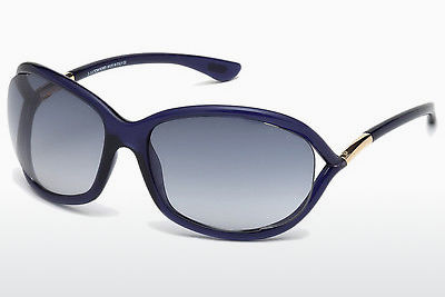 Aurinkolasit Tom Ford Jennifer (FT0008 90W) - Sininen