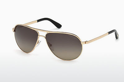 Aurinkolasit Tom Ford Marko (FT0144 28D) - Kulta