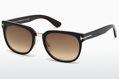 Aurinkolasit Tom Ford Rock (FT0290 01F) - Musta, Shiny