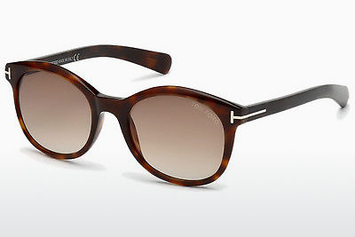 Aurinkolasit Tom Ford Riley (FT0298 52F) - Ruskea, Dark, Havana