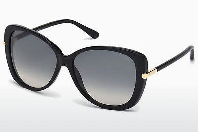Aurinkolasit Tom Ford Linda (FT0324 01B) - Musta, Shiny