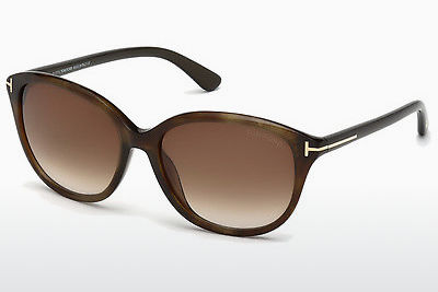 Aurinkolasit Tom Ford Karmen (FT0329 50P) - Ruskea, Dark