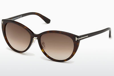 Aurinkolasit Tom Ford Gina (FT0345 52F) - Ruskea, Dark, Havana