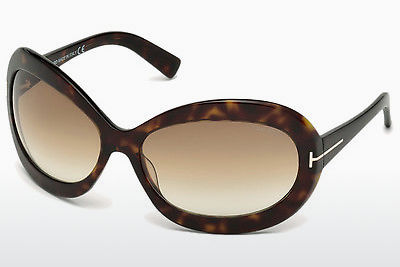 Aurinkolasit Tom Ford Edie (FT0428 52F) - Ruskea, Dark, Havana
