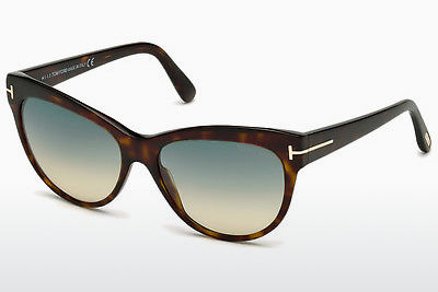 Aurinkolasit Tom Ford Lily (FT0430 52P) - Ruskea, Havana