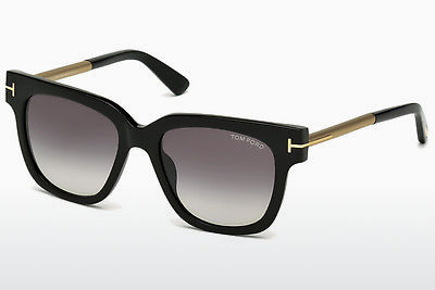 Aurinkolasit Tom Ford Tracy (FT0436 01B) - Musta, Shiny