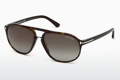 Aurinkolasit Tom Ford Jacob (FT0447 52B) - Ruskea, Havana