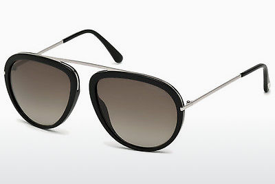 Aurinkolasit Tom Ford Stacy (FT0452 01K) - Musta, Shiny