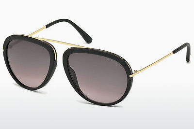 Aurinkolasit Tom Ford Stacy (FT0452 02T) - Musta, Matt
