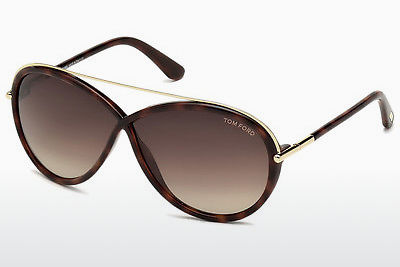 Aurinkolasit Tom Ford Tamara (FT0454 52K) - Ruskea, Havanna