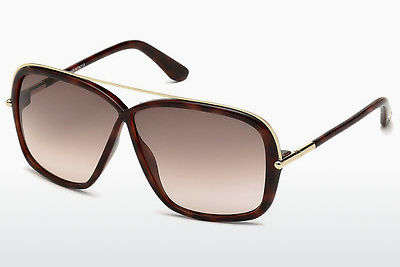 Aurinkolasit Tom Ford Brenda (FT0455 52F) - Ruskea, Dark, Havana