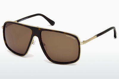 Aurinkolasit Tom Ford Quentin (FT0463 52K) - Ruskea, Havana
