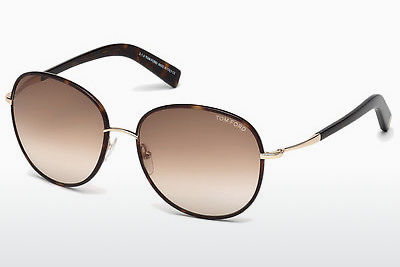 Aurinkolasit Tom Ford Georgia (FT0498 52F) - Ruskea, Dark, Havana