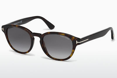 Aurinkolasit Tom Ford Von Bulow (FT0521 52B) - Ruskea, Dark, Havana
