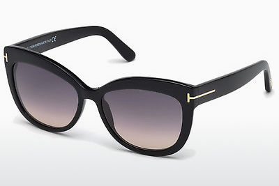 Aurinkolasit Tom Ford Alistair (FT0524 01B) - Musta, Shiny