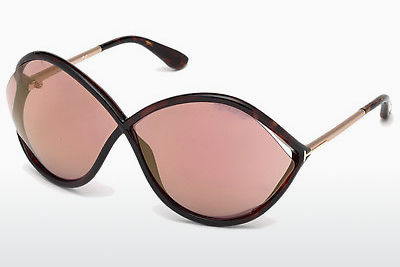 Aurinkolasit Tom Ford Liora (FT0528 52Z) - Ruskea, Dark, Havana