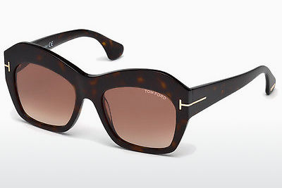 Aurinkolasit Tom Ford Emmanuelle (FT0534 52F) - Ruskea, Dark, Havana