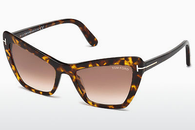 Aurinkolasit Tom Ford Valesca (FT0555 52F) - Ruskea, Dark, Havana