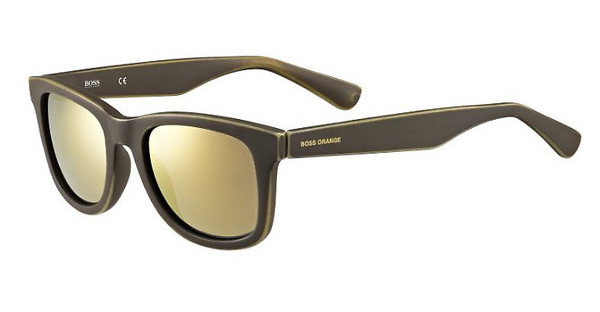 Boss Orange BO 0213/S 9EN/HJ GUN METAL FLBRW OCHRE (GUN METAL FL)