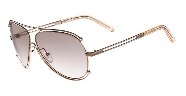 Chloé CE121S 785 ROSE GOLD-PEACH