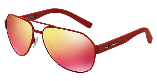 Dolce & Gabbana DG2149 12816Q RED MULTILAYERRED RUBBER
