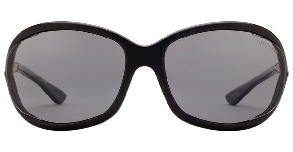 Tom Ford FT0008 01D grau polarisierendschwarz glanz