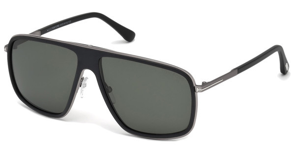 Tom Ford FT0463 02R grün polarieisrendschwarz matt