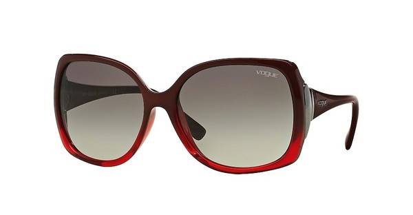 Vogue VO2695S 234811 GREY GRADIENTRED BRICK GRAD FIRE RED
