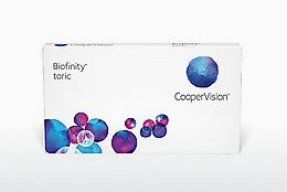 Piilolinssit Cooper Vision Biofinity toric BFNTR6