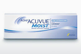 Piilolinssit Johnson & Johnson 1 DAY ACUVUE MOIST for ASTIGMATISM 1MA-30P-REV
