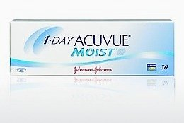 Piilolinssit Johnson & Johnson 1 DAY ACUVUE MOIST 1DM-90P-REV