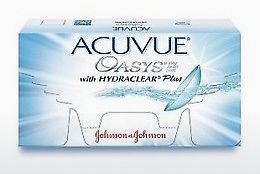 Piilolinssit Johnson & Johnson ACUVUE OASYS with HYDRACLEAR Plus PH-12P-REV