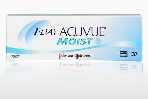 Piilolinssit Johnson & Johnson 1 DAY ACUVUE MOIST 1DM-30P-REV
