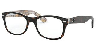 Ray-Ban Junior RY1528 3802 HAVANA ON TEXTURE PINK BROWN
