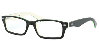 Ray-Ban Junior RY1530 3820 TOP BLACK ON WHITE/GREEN