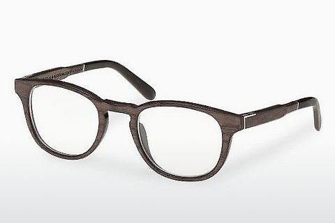Silmälasit/lasit Wood Fellas Bogenhausen (10911 black oak)
