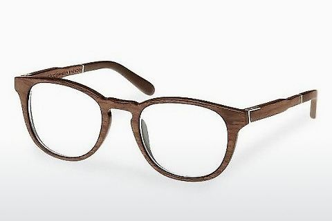 Silmälasit/lasit Wood Fellas Bogenhausen (10911 walnut)
